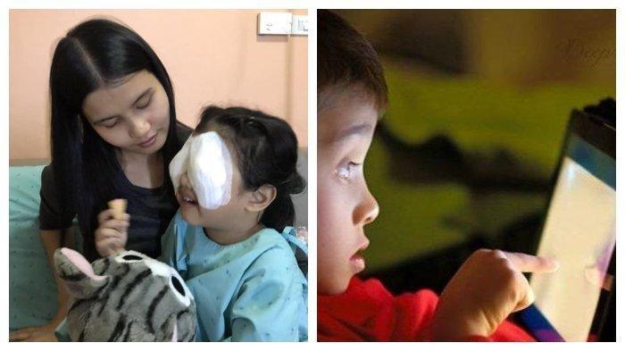 Kecanduan Main iPad, Viral Anak 4 Tahun ini Harus Jalani Operasi Mata, Kesalahan Orang Tua?