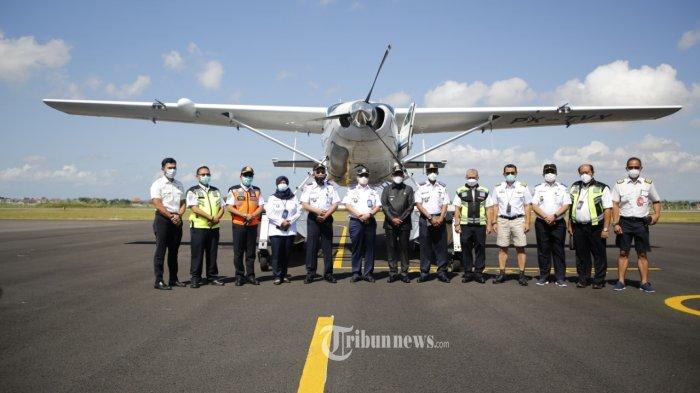 Dukung Pariwisata, Balitbanghub Lakukan Uji Operasional Pesawat Apung Rute Bali Menuju Gili Iyang