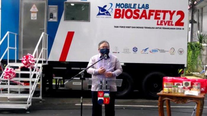 Mobile BSL-2 di Bogor Bisa Lakukan Tes Covid-19 hingga 1.000 Sampel per Hari