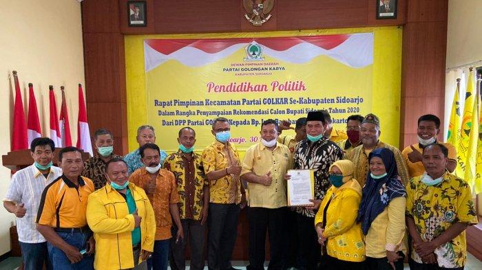 Golkar Resmi Berikan Rekomendasi kepada Bambang Haryo di Pilbup Sidoarjo 2020