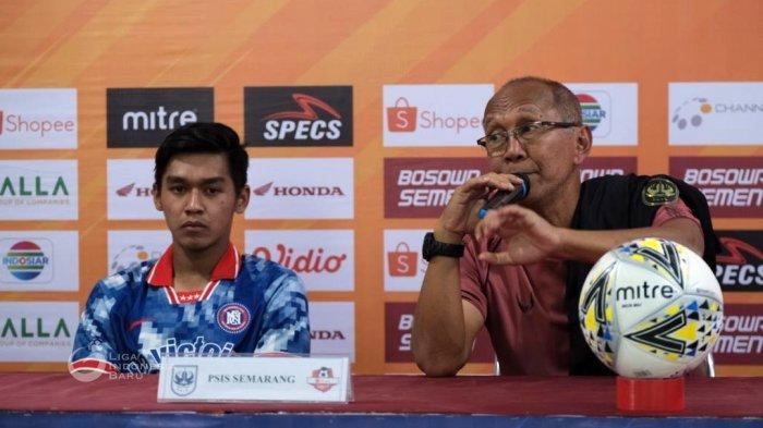 Bambang Nurdiansyah dalam persiapan melawan PSM Makassar (Liga-Indonesia.id)