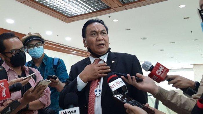 Bambang Wuryanto ditemui di Kompleks Parlemen, Senayan, Jakarta, Selasa (25/5/2021)