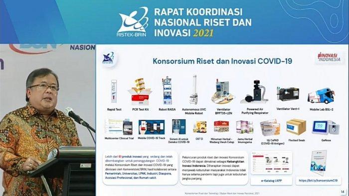 Riset Detektor Covid-19, Menristek Cari Alternatif Tes Swab Lewat Sampel Air Liur