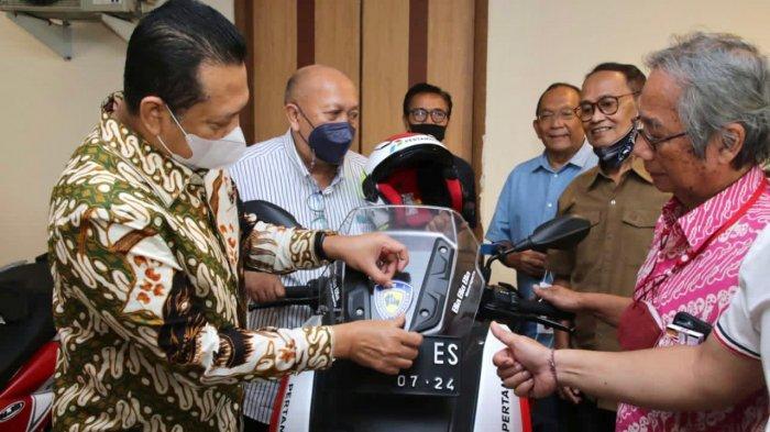 Terima Para PembalapSenior (Legend Riders), Bamsoet Ajak Bangkitkan Perekonomian Rakyat