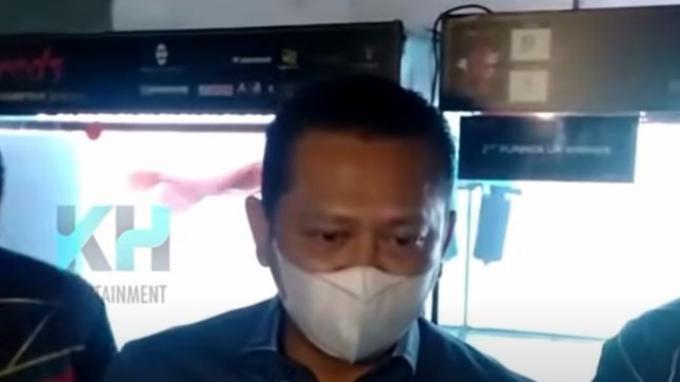 Bambang Soesatyo menjadi saksi pernikahan Aurel dan Atta