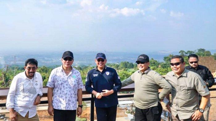 Bertemu Tommy Soeharto, Budi Waseso, dan AM Putranto, Bamsoet Ajak Kembangkan Sentul
