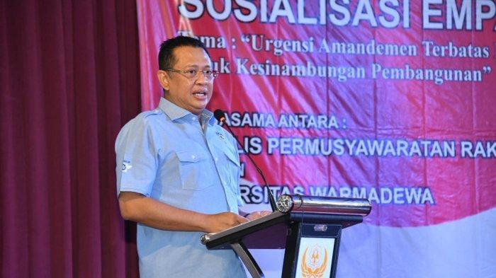 Bamsoet: Civitas AkademikaUniversitas Warmadewa BaliDukung MPR RI Miliki Kewenangan Tetapkan PPHN
