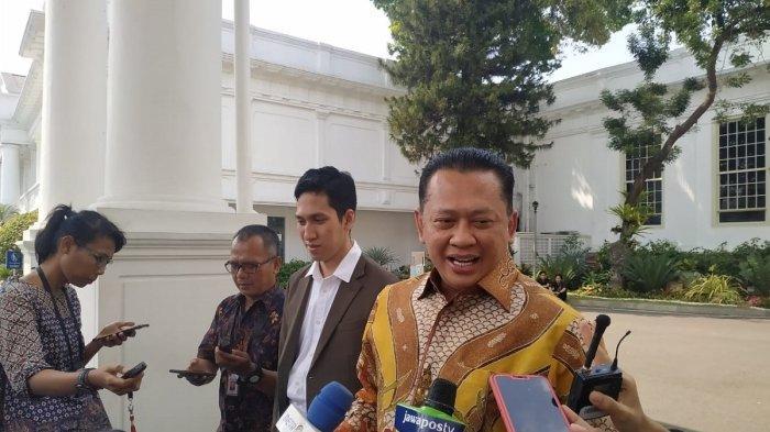 Ke Istana, Ketua DPR Undang Jokowi Jadi Saksi Pernikahan Anaknya