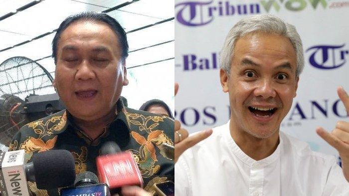 Bambang Wuryanto dan Ganjar Pranowo