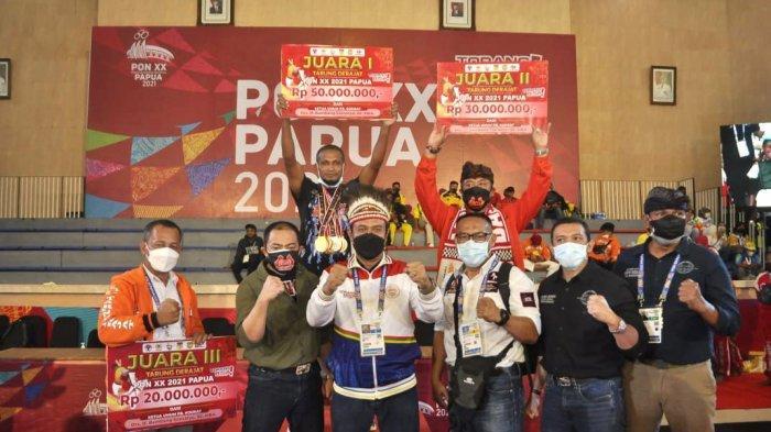 Hasil Perolehan Medali PON Papua 2021: Tuan Rumah Sabet Gelar Juara Umum Cabor Tarung Derajat
