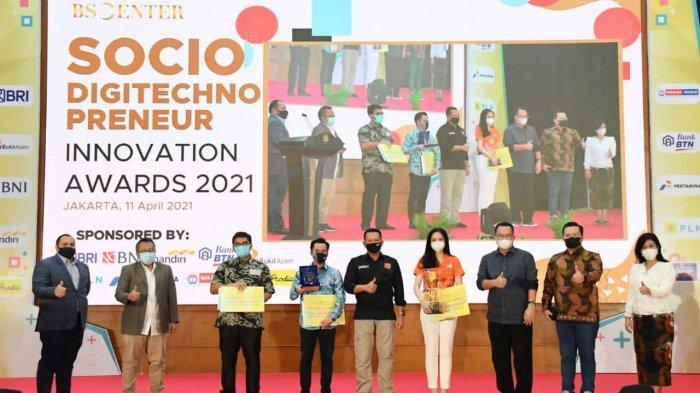 Bamsoet BersamaBS Center Gelar BSC Socio Digitechnopreneur Innovation Awards 2021