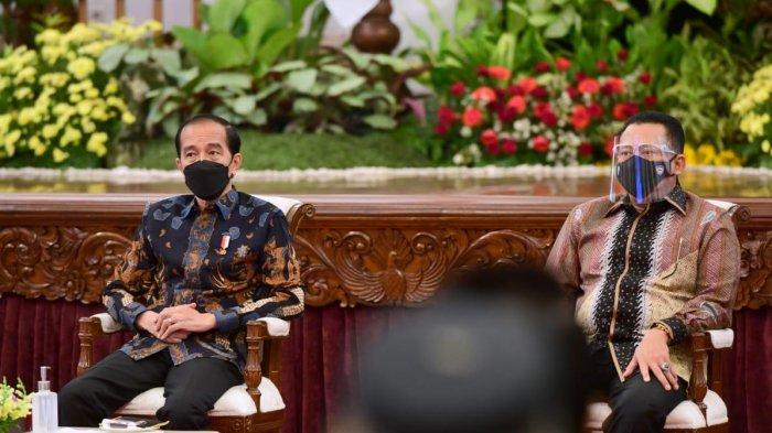 Bamsoet Dampingi Presiden Joko Widodo BukaIndonesia International Motor Show 2021