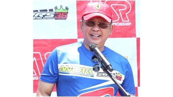 Ketua MPR RI Bambang Soesatyo menggelar lomba balap motorASR Racing Championship memperebutkanPiala Bambang Soesatyo di Sirkuit Sentul, Bogor, Minggu (13/9/20).