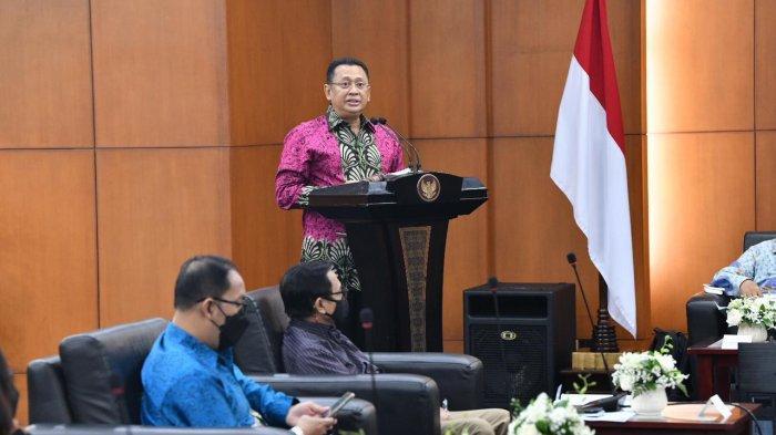 Undang Ahli pada FGD MPR Bahas Demokrasi, Bamsoet Ingatkan Penurunan Kualitas Demokrasi Indonesia
