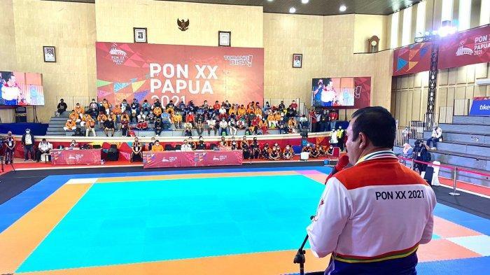 Bamsoet Ingatkan Atlet Tarung Derajat PON XX Papua Junjung Tinggi Sportivitas dan Fair Play