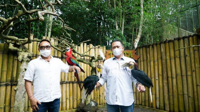 KunjungiTasta Tabanan Wildlife Park, Bamsoet Dukung Konservasi Flora Fauna