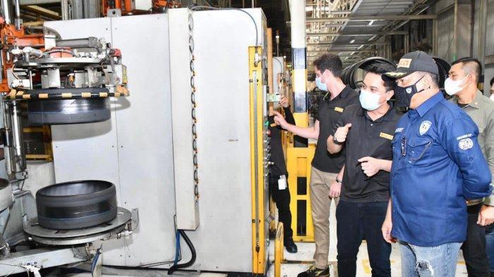 Kunjungi Pabrik Ban Pirelli di Subang  Bamsoet Ajak Majukan Olahraga Otomotif Indonesia