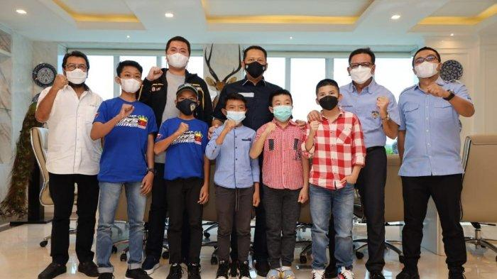 Terima Pembalap Muda, Bamsoet Tegaskan IMI Siap Gelar Kejurnas Balap Motor Bebek Piala Presiden RI