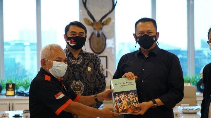 TerimaPengurus DPP Gerakan Pemuda Marhaen, Bamsoet Ingatkan Pentingnya Peningkatan Sektor Pertanian