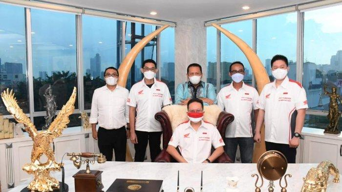 Terima Direksi Astra Honda Motor, Bamsoet Ajak Majukan Olahraga Otomotif Indonesia
