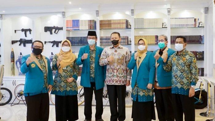 Terima PengurusPGMI, Bamsoet Minta Pemerintah Tingkatkan Kesejahteraan Guru Madrasah
