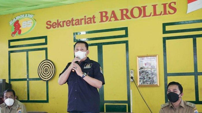 Bamsoet dan GERAK BS Berikan Bantuan Paket Sembako