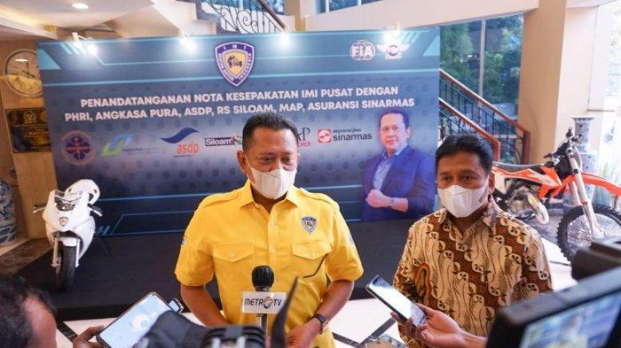 Bamsoet: Pemegang Kartu Anggota IMI Dapat Diskon Khusus Hotel dan Restoran PHRI Seluruh Indonesia