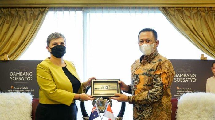 TerimaDuta Besar Australia untuk Indonesia, Bamsoet Dorong Peningkatan Kerjasama Bilateral