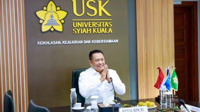 Di Universitas Syiah Kuala, Ketua MPR Singgung Soal Program Pemda yang Tak Sinkron dengan Pusat