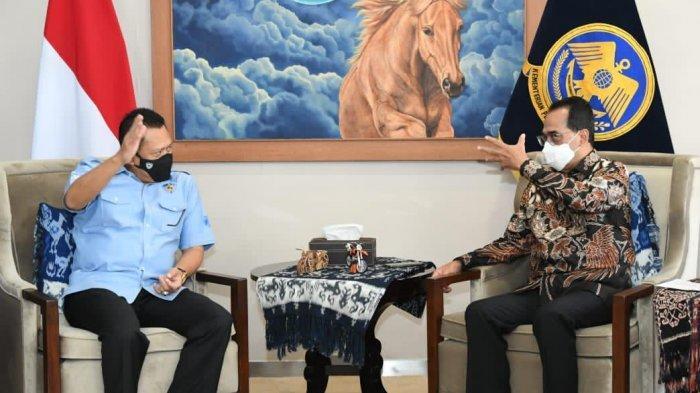 Bertemu Menteri Perhubungan, Bamsoet Bahas SIM Internasional Indonesia Bisa Diterima Seluruh Dunia