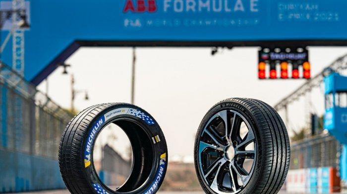 Terinspirasi dari Formula E, Michelin Ciptakan Ban untuk Kendaraan Listrik