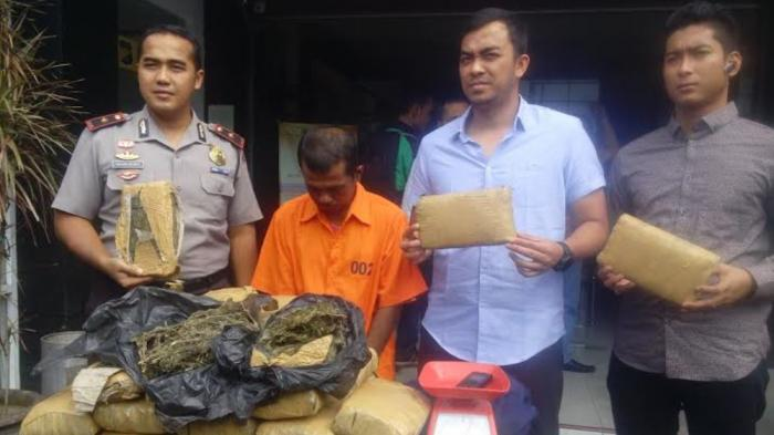 Jamal Mengaku Lima Kali Edarkan Ganja Aceh di Medan