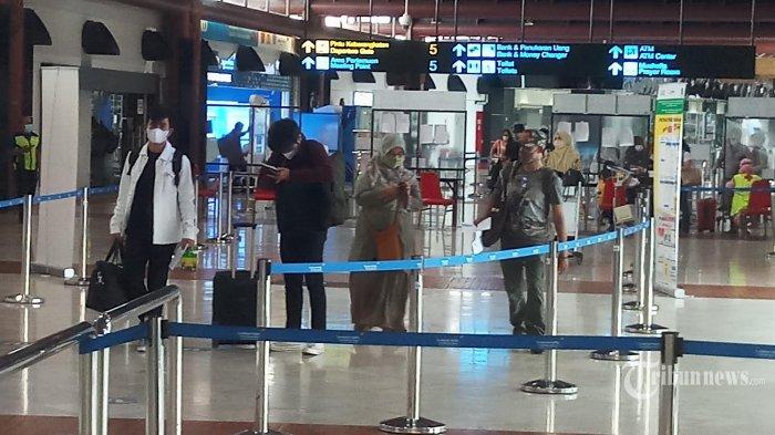 Penumpang di Bandara Soekarno-Hatta Menurun Drastis Saat Masa Larangan Mudik Berlaku