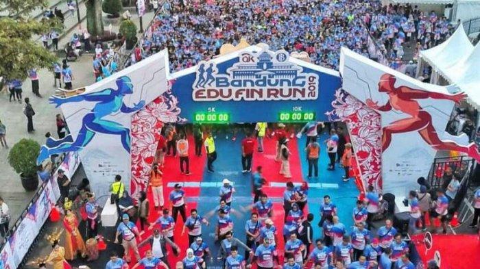 Tingkatkan Edukasi dan Literasi Keuangan, BI dan OJK Gelar Bandung Edu Fin Run 2019