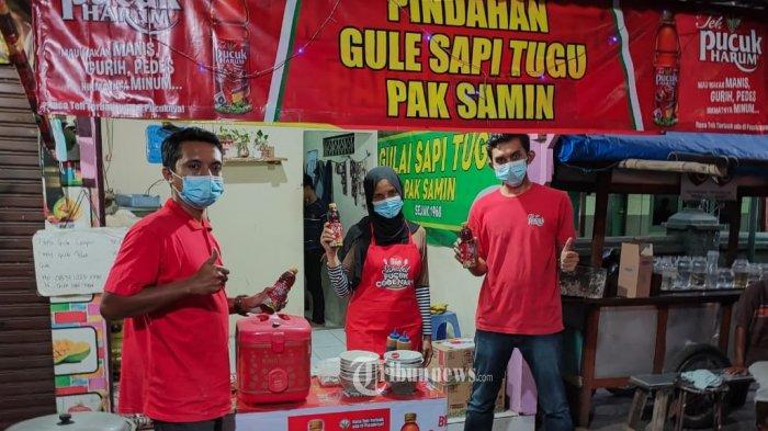 UMKM Pilihan MGDALENAF bersama Teh Pucuk Harum mendatangi sebanyak 14 UMKM.