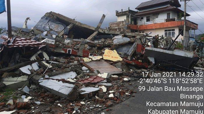 Kemendikbud: 103 Sekolah Rusak Akibat Gempa di Sulawesi Barat
