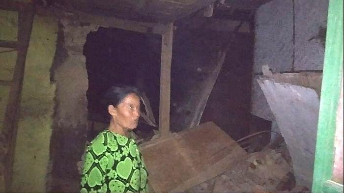 15 Rumah di Sukabumi Rusak Diguncang Gempa