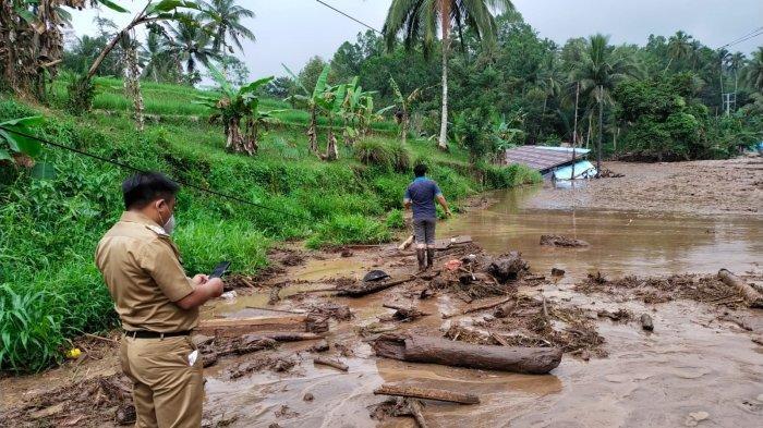 BPBD Minahasa Tenggara Terus Lakukan Pendataan Pascabanjir Bandang di 2 Kecamatan