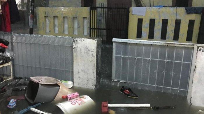 Diguyur Hujan Semalaman, Rumah Warga di Cipondoh dan Duri Kosambi Terendam Banjir