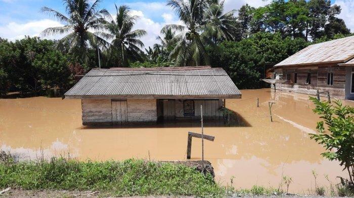 15 Kampung di 4 Kecamatan di Berau Terendam Banjir, Ribuan Kepala Keluarga Terdampak