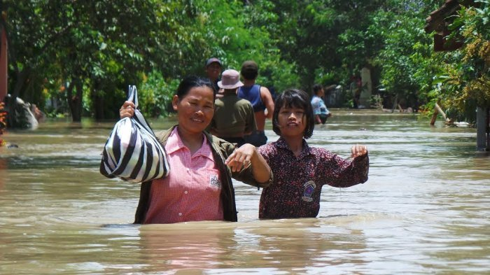 Tercatat 5.630 Warga Mengungsi, Pemkab Brebes Tetapkan Darurat Banjir