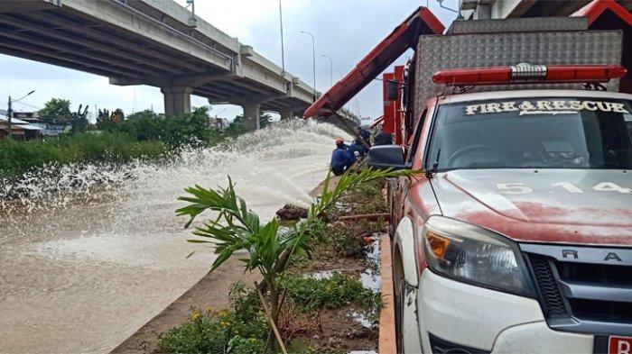 Banjir di Cipinang Melayu Mulai Surut_1