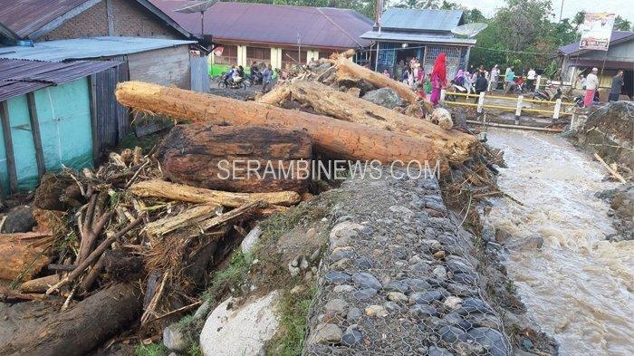 Korban Banjir Bandang di Desa Titi Pasir Aceh Tenggara Dilanda Kelaparan