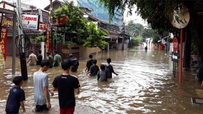 Jakarta Banjir Lagi Hari Ini, Terparah Capai 3 Meter hingga Lebih dari 100 Sekolah Terpaksa Libur