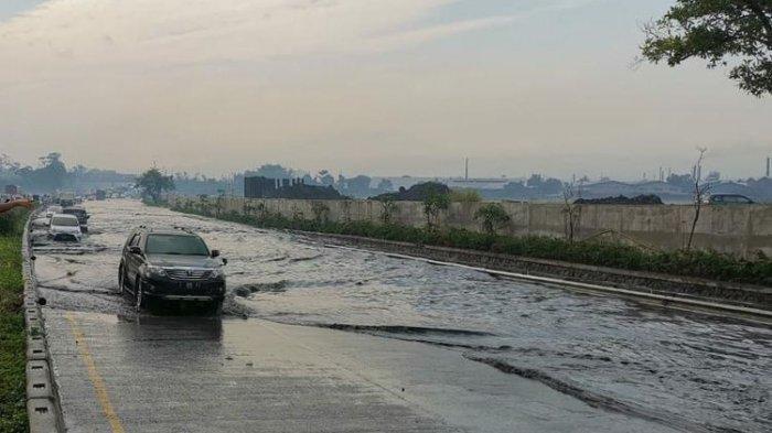 Dituding Jadi Penyebab Timbulnya Genangan di Tol Padaleunyi, KCIC Membantah