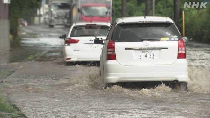 Mulai Hari Minggu Tokyo Jepang Memasuki Musim Hujan