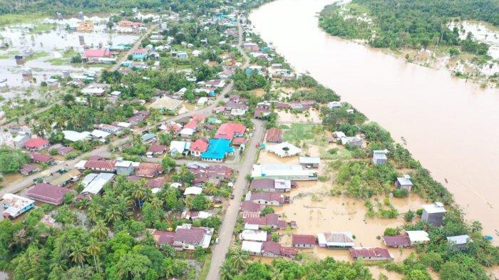 533 Unit Rumah di Kabupaten Nunukan Terendam Banjir