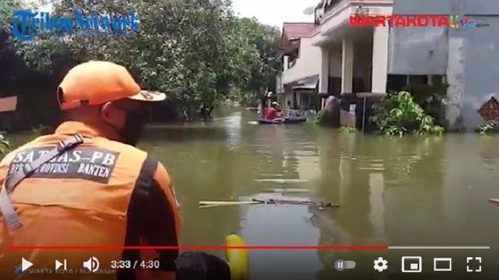 Ratusan Paket Bantuan Disalurkan untuk Korban Banjir di Kecamatan Periuk Tangerang