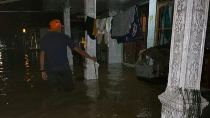 Sungai Satui dan Haruyan Meluap Akibatkan 1.184 Rumah di 2 Kabupaten Kalsel Terdampak Banjir