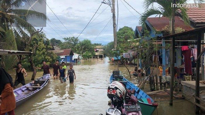 13 Ribu Warga Terdampak Banjir di Satui Tanah Bumbu Kalsel Mengungsi
